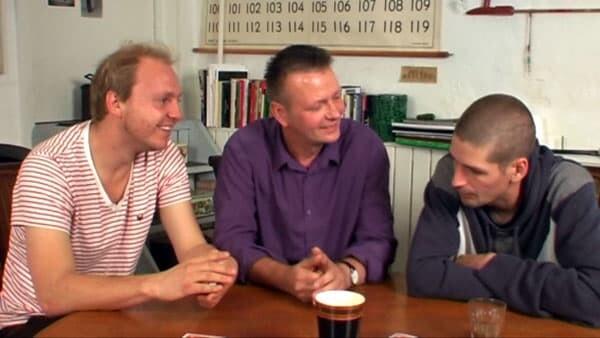 Rune Klan, Klaus Mulbjerg og Peter Jakobsen