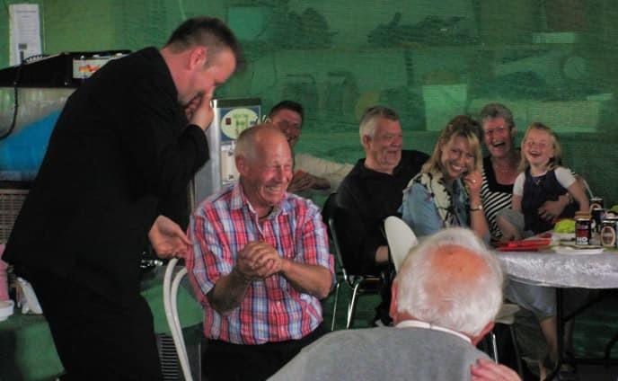 Tryllekunster 80 års fødselsdag